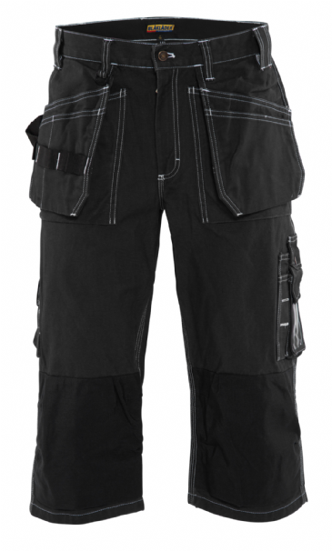Blaklader 1540 Pirate Shorts 100% Cotton (Black)